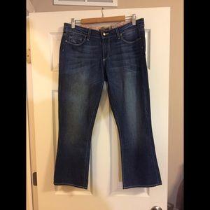 Paige Lou Lou Cropped Jeans